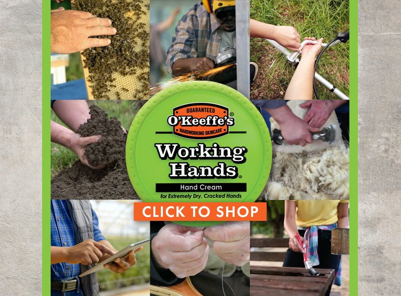 January Item of the Month O'Keeffe's Working Hands Hand Cream Sale