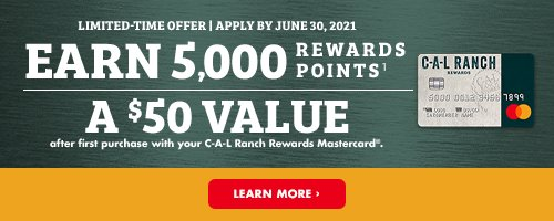 CAL Ranch Credit Card